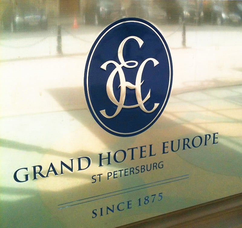 Grand Hotel Europe St. Petersburg 2013