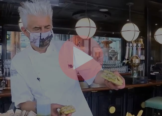New Realm Brewing: Chef Grant on WTOC sharing the Cuban Sandwich